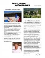 Petit Journal – été 2020