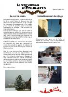 Petit Journal – hiver 2020